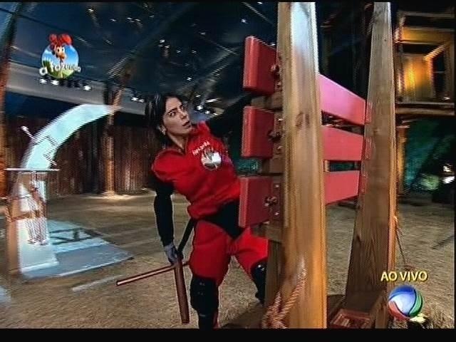 """23.set.2014 - Heloisa Faissol dá início ao circuito de agilidade que decide quem será o fazendeiro da semana em """"A Fazenda 7"""""""