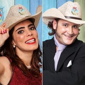 Heloisa Faissol e Roy Rosselló estão na roça de