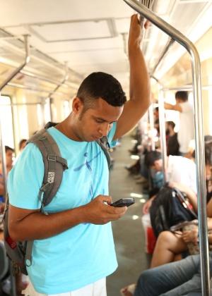 """Assim como """"Fiel"""", Jessé Andarilho escreve seu próximo livro na tela do celular - Divulgação"""