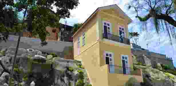 Casa da Guarda no Jardim Suspenso do Valongo, na região portuária do Rio - Alexandre Macieira/Riotur - Alexandre Macieira/Riotur