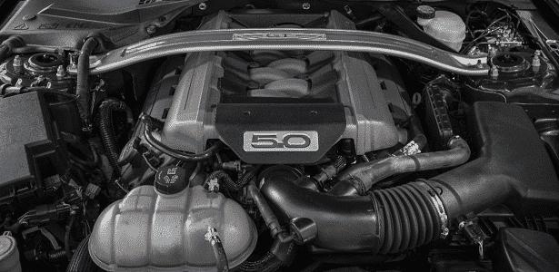Motor do Mustang V8 - Divulgação - Divulgação
