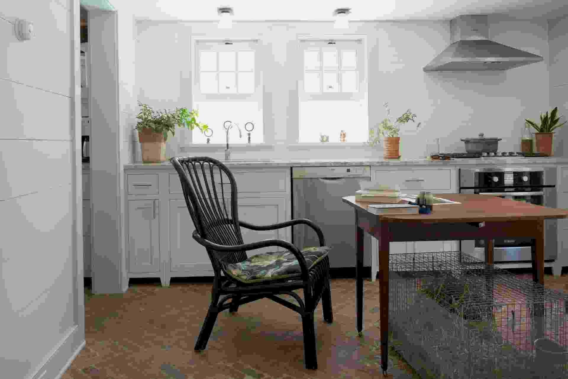 """Sem estilo, """"villa"""" próxima à NY ganhou ares aconchegantes de interior (Imagem do NYT, usar apenas no respectivo material) - Jane Beiles/ The New York Times"""