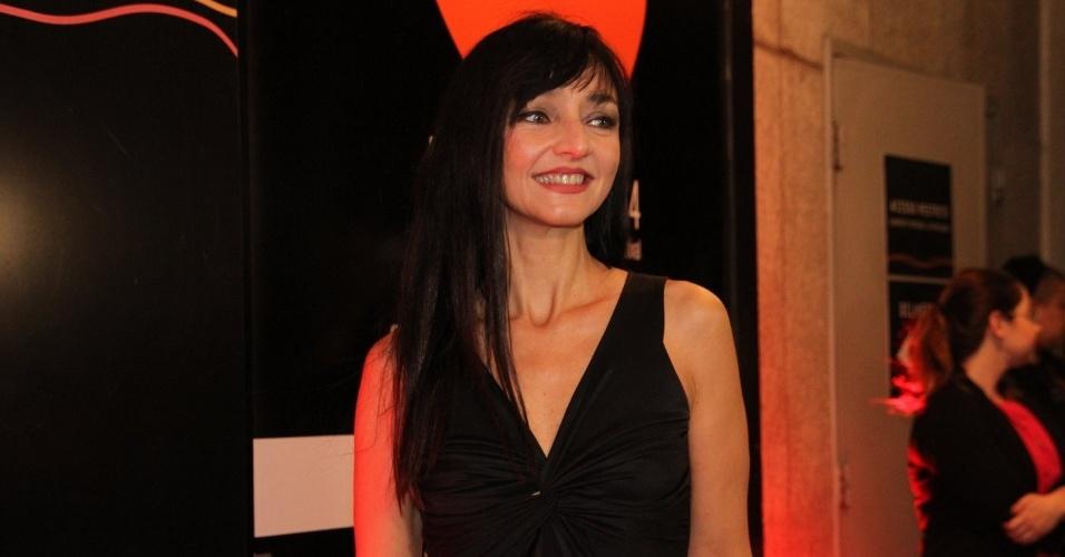 24.set.2014 - A atriz e cineasta portuguesa Maria de Medeiros vai ao Festival do Rio 2014. O evento vai até o dia 8 de outubro, com mais de 300 filmes na programação