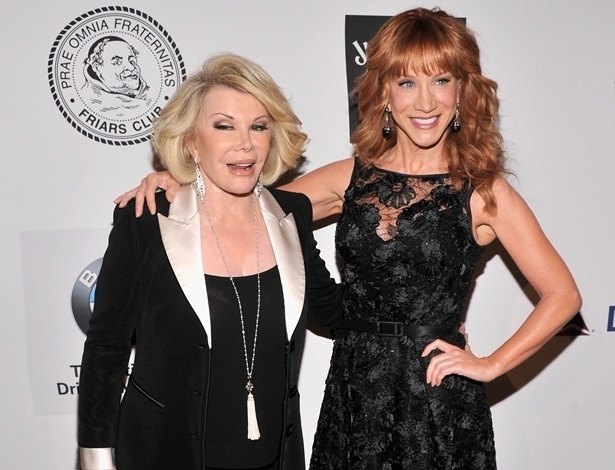 Kathy Griffin é cotada para assumir o posto de Joan Rivers no Fashion Police - Getty Images