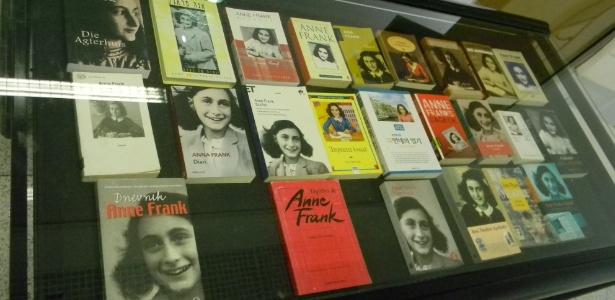 """""""O Diário de Anne Frank"""" foi publicado por seu pai, Otto Frank, e já foi lido por milhões - Divulgação"""