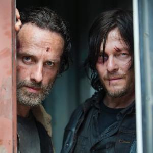 "Cena da 5ª temporada de ""Walking Dead"""