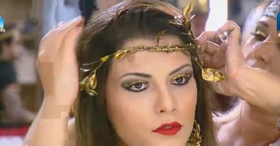 26.set.2014 - Babi Rossi vestida para festa de