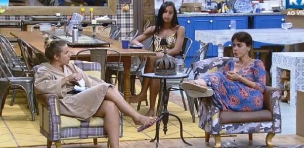 """Heloisa Faissol reclama do comportamento de Diego Cristo em """"A Fazenda 7"""""""