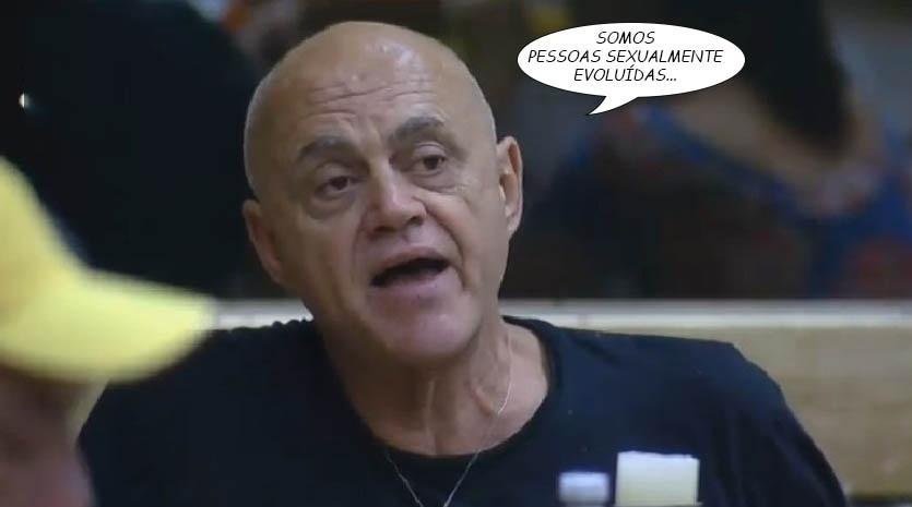 """Em """"A Fazenda 7"""", Oscar Maroni fala sobre o relacionamento aberto que mantém com Maíra Juchem fora do reality show"""