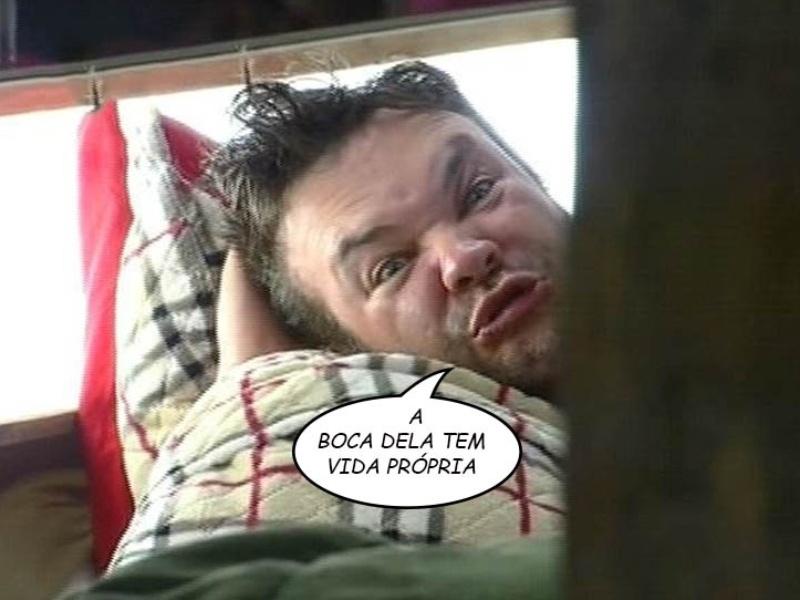 """Felipeh Campos faz imitações e critica a boca de Cristina Mortágua em """"A Fazenda 7"""""""
