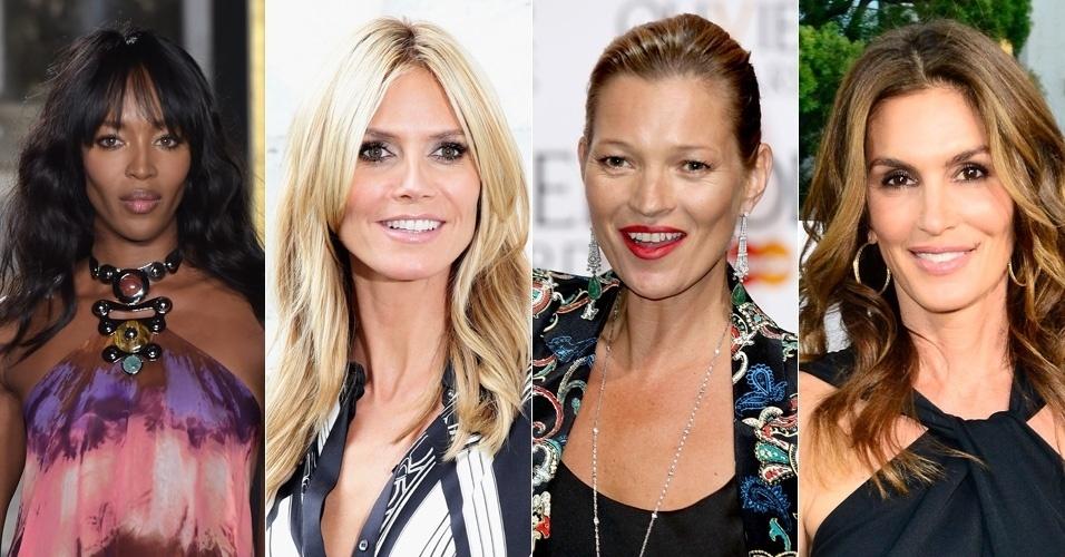 Fotos Veja O Antes E Depois Das Supermodelos Dos Anos 80 E