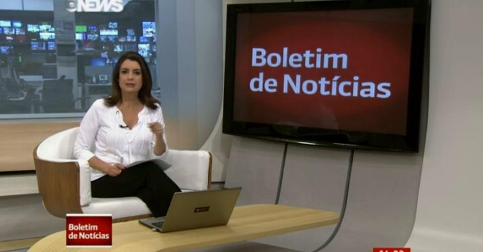 Âncora e repórter da Globo News se atrapalham e cometem gafe ao vivo