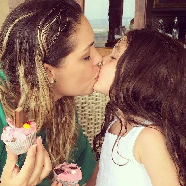 28.set.2014 - Tania Mara faz homenagem ao aniversário da filha, Maysa, no Instagram