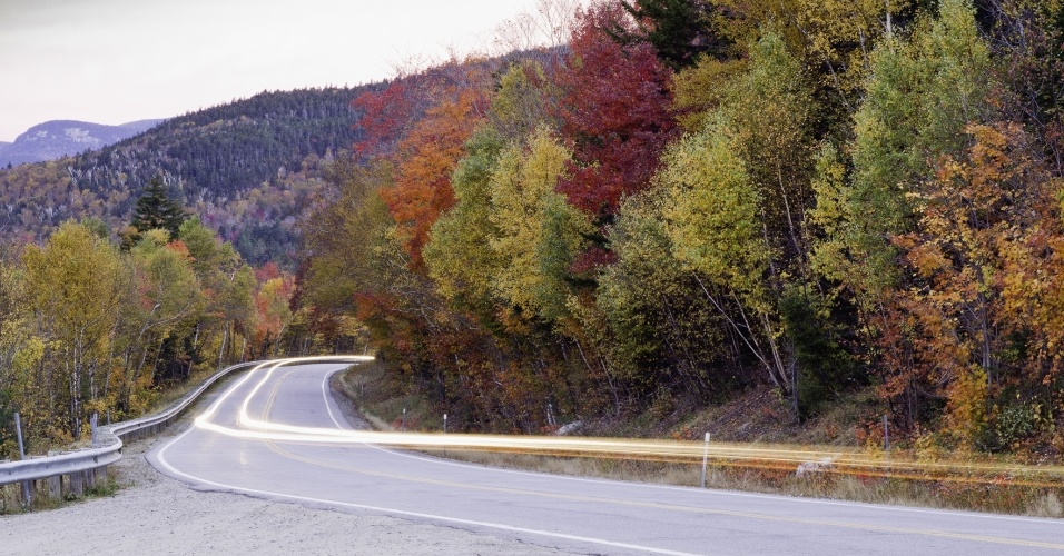 ? A chegada do outino muda o visual por todo o país, tornando a experiência de passear por locais como o estado de New England muito mais interessante