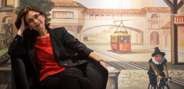 13.ago.2013 - Retrato de Pilar del Rio, viúva de José Saramago, no Brasil - Danilo Verpa/Folhapress