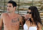 Ex-BBBs Diego e Fran fazem ensaio sensual em praia carioca - Kadu Sandeiro/Divulgação