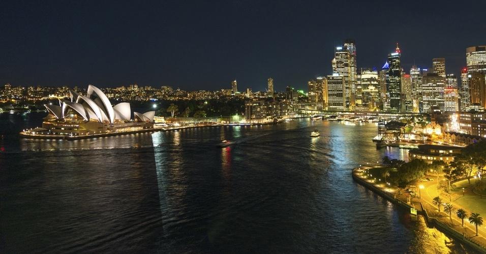 A chegada da primavera deixa tudo mais bonito na Austrália, tornandoa  já charmosa Sydney ainda mais irresistivel