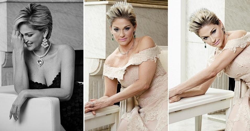 Andréa Nóbrega fez um ensaio inspirado na Princesa Diana como parte do projeto ?Divas?, do diretor artístico Alexandre Piva