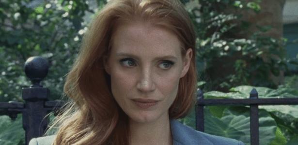 "Jessica Chastain no curta ""Scripted Content"", de Matthew Frost - Reprodução"