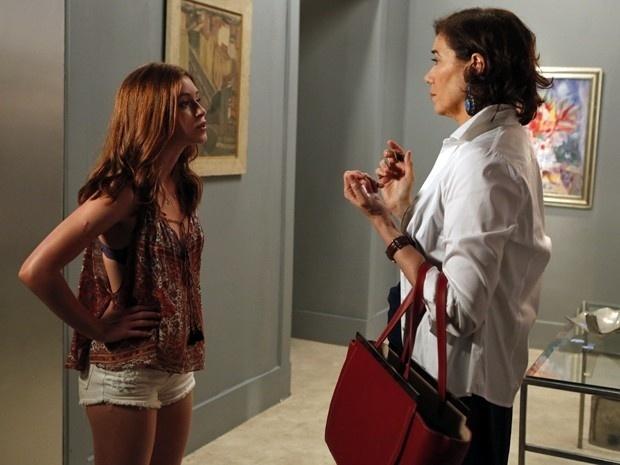 Maria Marta tenta convencer Maria Isis a ficar com João Lucas