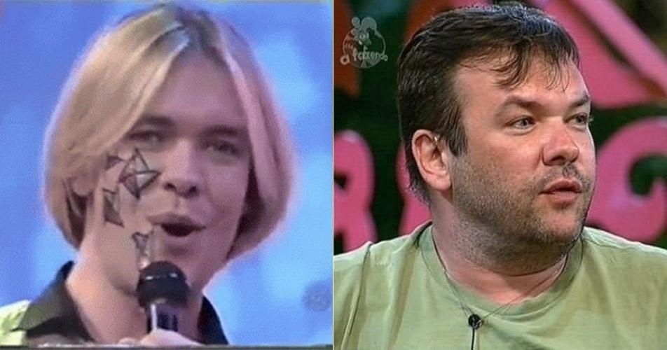 """Surgiu ao lado de Ellen Roche como o sucessor do dublador Pablo na reestreia do programa """"Qual É a Música"""", apresentado por Silvio Santos, no SBT, em 2004"""