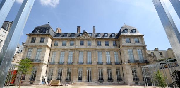16.mai.2014 - Museu de Picasso em Paris  - STEPHANE DE SAKUTIN/AFP