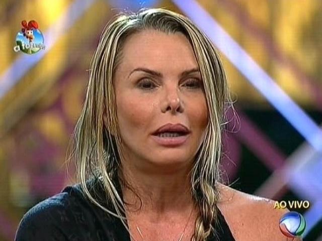 "29.set.2014 - Cristina Mortágua indica Roy Rosselló para a segunda roça de ""A Fazenda 7"""