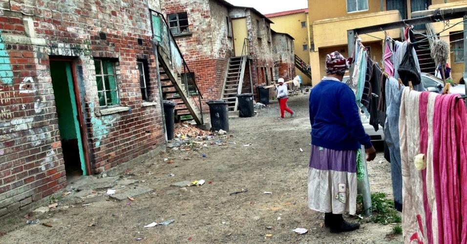 Em uma incursão a Langa, na Cidade do Cabo, é possível ainda ver as paisagens das antigas