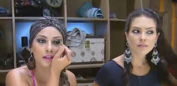 Babi Rossi aconselha Débora Lyra a se afastar de Marlos Cruz