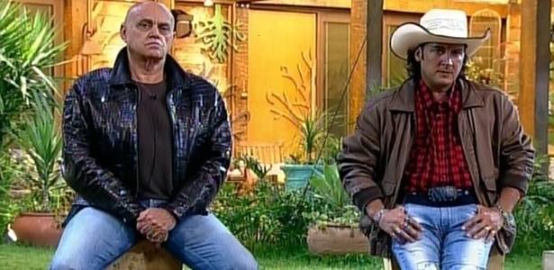 """Oscar Maroni e Roy Rosselló aguardam o resultado da votação de """"A Fazenda 7"""""""
