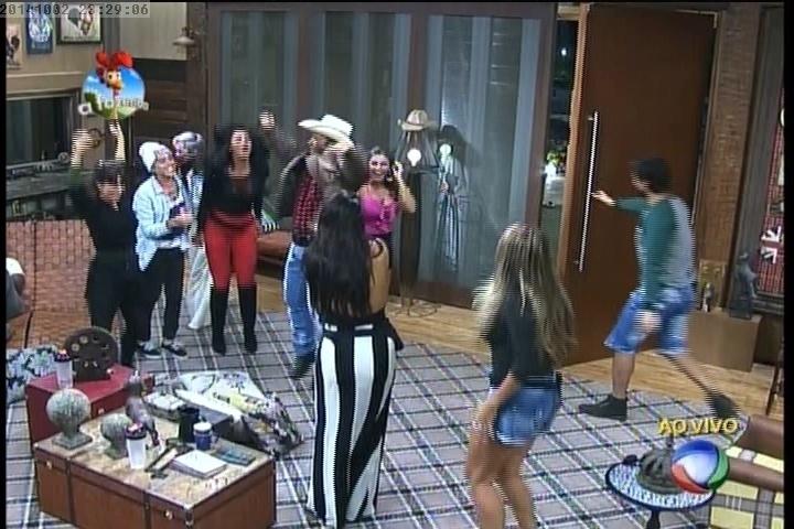 2.out.2014 -Peões comemoram a permanência de Roy em