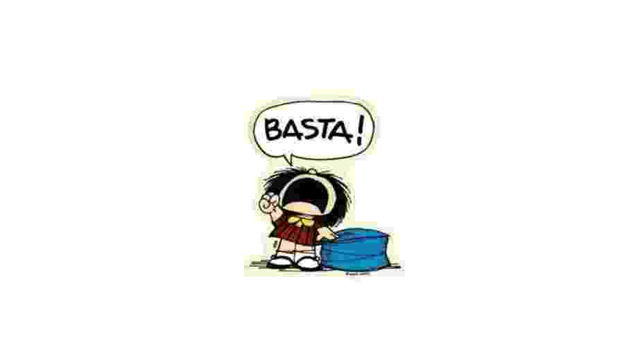 A personagem Mafalda - Reprodução