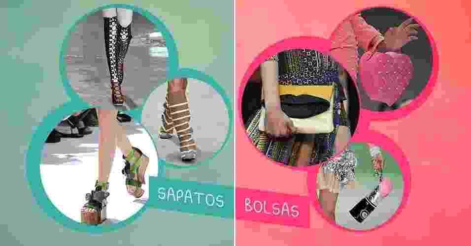Capa sapatos e bolsas - Arte UOL