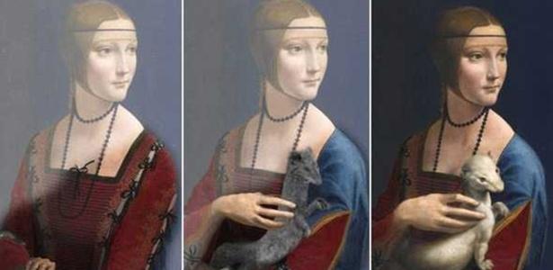 Descoberta de cientista francês mostra método de trabalho de Leonardo Da Vinci  - Pascal Cotte/Reprodução/BBC