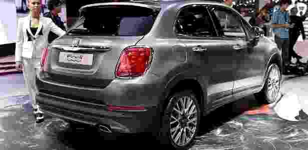 Fiat 500X estreia em Paris - Newspress - Newspress