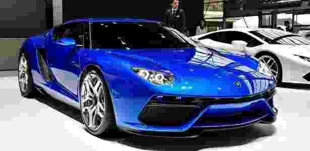 Lamborghini Asterion no Salão de Paris 2014 - Newspress - Newspress