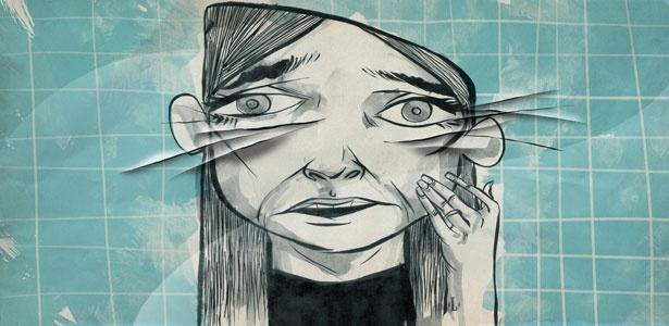 Negar as rugas excessivamente pode ser sinal do problema - Leo Gibran/UOL