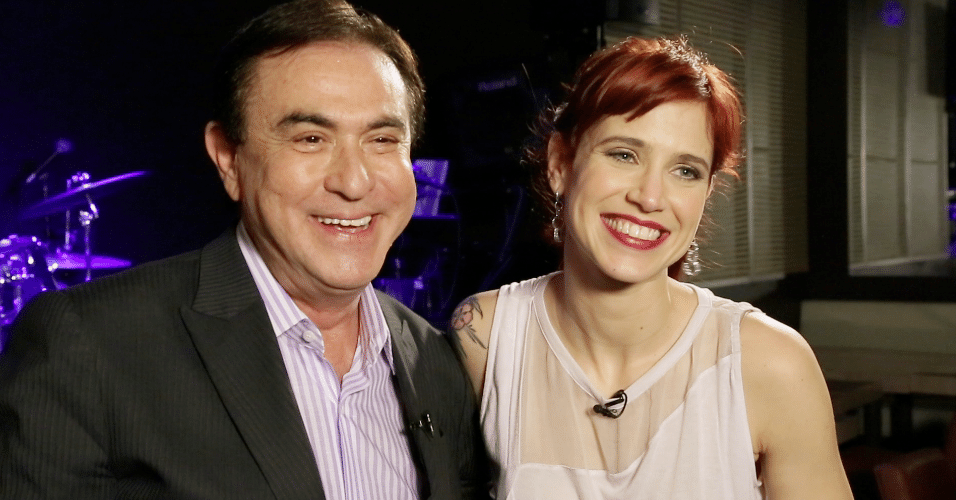 Mel Lisboa, falando da carreira e da vida, será a  entrevistada do Amaury Junior, logo mais, na Rede TV!