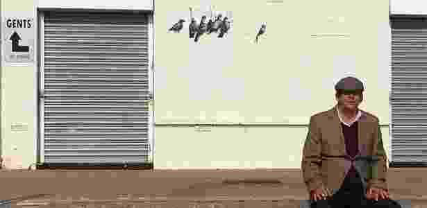 Trabalho do artista britânico Banksy é removido em Clacton-o-Sea, na Inglaterra - Reprodução/banksy.co.uk
