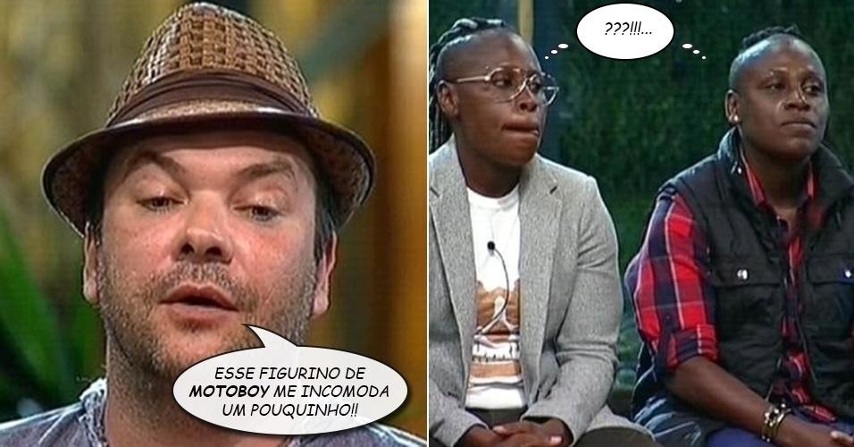 """Álbum balãozinho - Felipeh Campos critica o visual de Pepê e Neném em """"A Fazenda 7"""""""