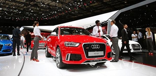 Versão esportiva do SUV, RS Q3 é uma das atrações da Audi em Paris - Benoit Tessier/Reuters