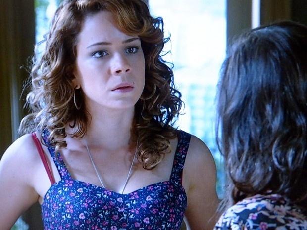Cristina pressiona Cora a contar verdade sobre passado de sua mãe e Zé Alfredo em