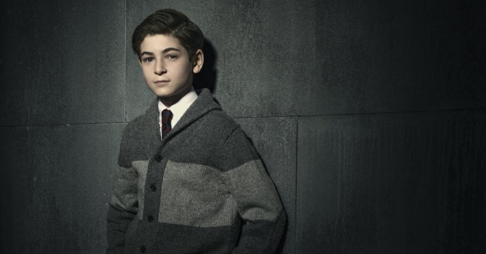"David Mazouz interpreta o jovem Bruce Wayne, futuro Batman, em ""Gotham"""
