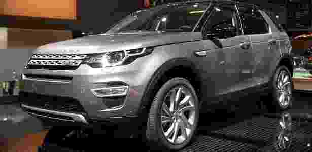 Discovery Sport se exibe em Paris - Newspress - Newspress