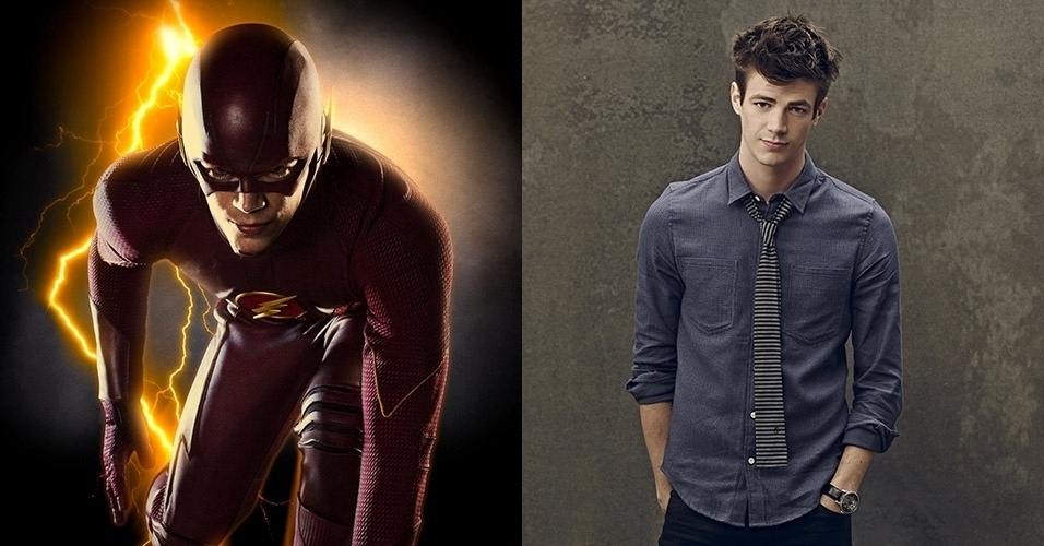 "Grant Gustin dá vida ao protagonista, Barry Allen, em ""The Flash"""
