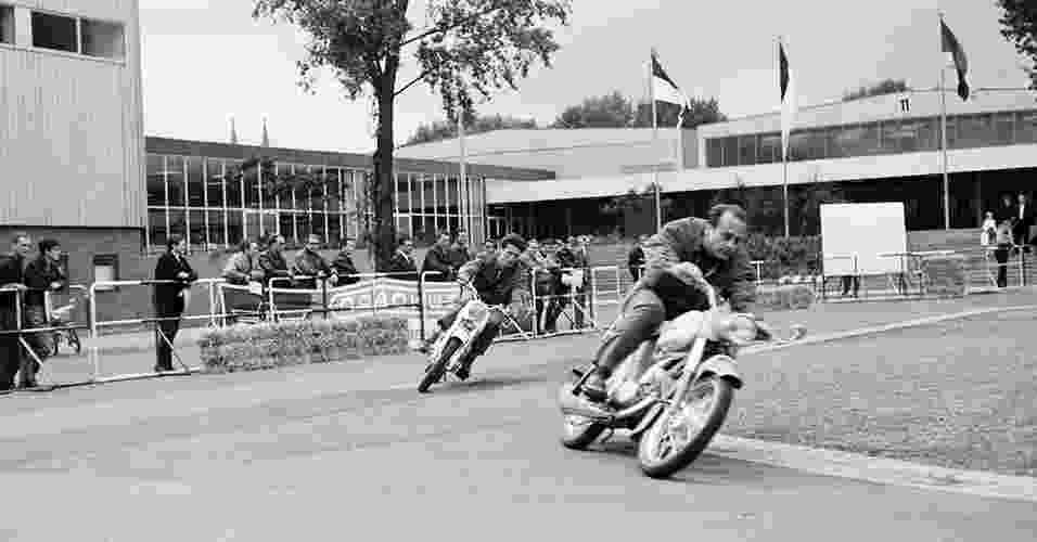 História do Salão de Motos de Colônia - Rheinisches Bildarchiv/Koelnmesse