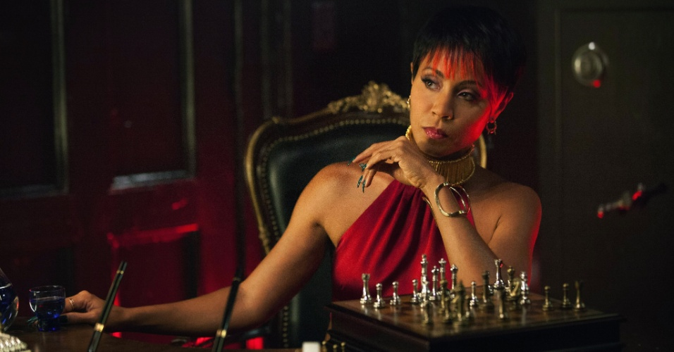 "Jada Pinkett Smith é Fish Mooney em ""Gotham"""