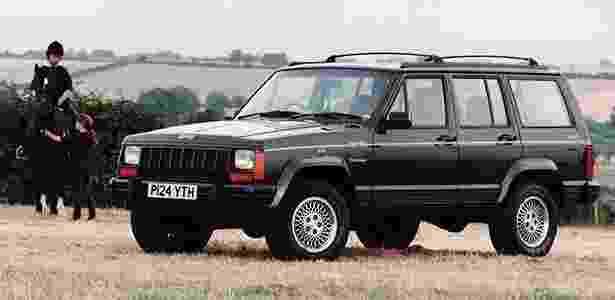Jeep Cherokee 1996 - Divulgação - Divulgação