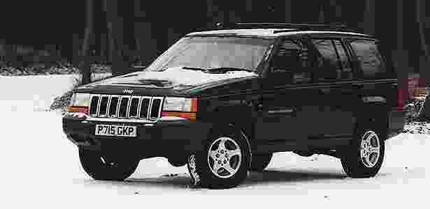 Jeep Grand Cherokee 1996 - Divulgação - Divulgação