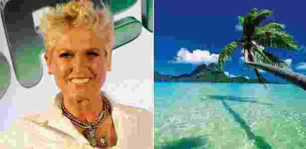 A eterna rainha dos baixinhos visitou a ilha há quatro anos com a filha Sasha - Cynthia Salles/Globo e Getty Images
